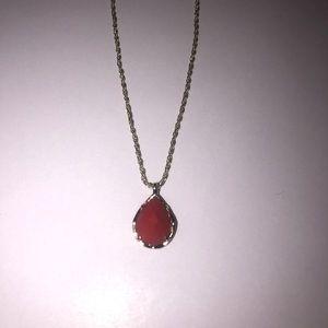 Kendra Scott Kiri Necklace Red